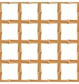Seamless background with bamboo vector image