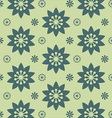 Floral pattern texture background vector image