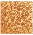antique seamless floral pattern Vintage vector image