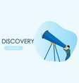 astronomer looking through telescope concepts