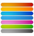 banner button plaque shapes elements in 7 color