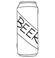 beer tin or can drawing cartoon