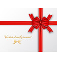 festive wrapping template vector image vector image