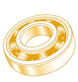 gold ball bearing