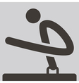 Gymnastics Artistic icon vector image vector image