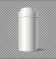 realistic tin bucket vector image