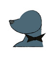 sealion cartoon animal circus show icon vector image vector image