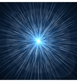 Time warp Supernova starburst vector image vector image