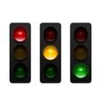 Traffic Lights vector image vector image
