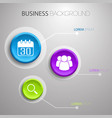 business light infographic concept vector image vector image