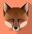 Fox face icon vector image vector image