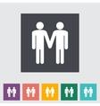 Gay sign vector image vector image