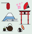 japan cartoon vector image vector image