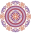 oriental chinese ornament asian vector image vector image