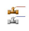 partner valve vector image vector image