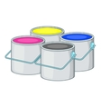 Printer ink icon cartoon style vector image