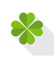 saint patricks day clover symbol vector image