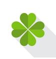 saint patricks day clover symbol vector image