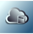 steel 3d clouds Storage vector image