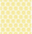sun seamless pattern the whole image is vector image vector image