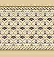 tribal seamless pattern geometric design vector image