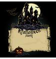 Halloween design RGB vector image