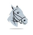 Horse head Cartoon vector image