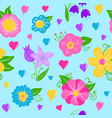 a brightly colored repeating background of vector image vector image