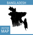 bangladesh map with title