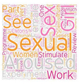 Did You See Truth About Female Desire Part 1 text vector image vector image