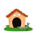 dog house 2 vector image vector image