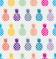 EXOTIC PINEAPPLE PATTERN vector image vector image