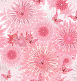 seamless texture with delicate flowers floral vector image vector image