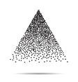 dots pattern Modern stylish texture vector image