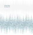 abstract background with blue and gray dots vector image vector image