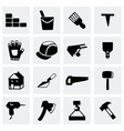 Construction icon set vector image vector image