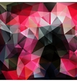 Modern abstract polygonal colorful background vector image vector image