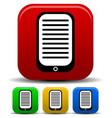pda ebook reader icon vector image