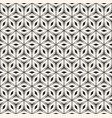 polygonal floral ornament seamless pattern vector image vector image