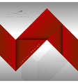 Red Layout vector image vector image