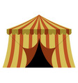 theme park tent vector image vector image
