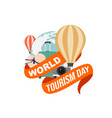 World tourism day design