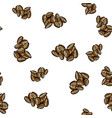 almond seamless pattern vector image vector image