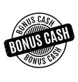 Bonus Cash rubber stamp vector image