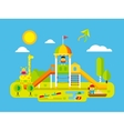 children playground vector image vector image