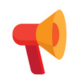 cute megaphone pattern color vector image vector image