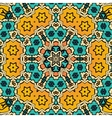 Decorative vintage eastern mandala seamless vector image vector image
