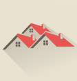 House rental icon vector image vector image