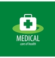 logo medical vector image vector image