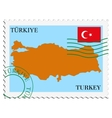 Mail to-from turkey vector | Price: 1 Credit (USD $1)